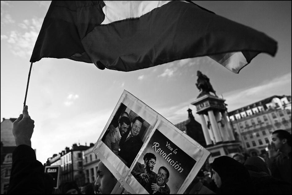 A piece of fine art art photography titled Viva La Revolucion by Hippolyte
