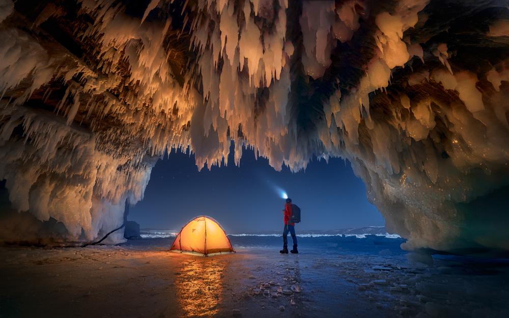 Baikal's Ice Cave