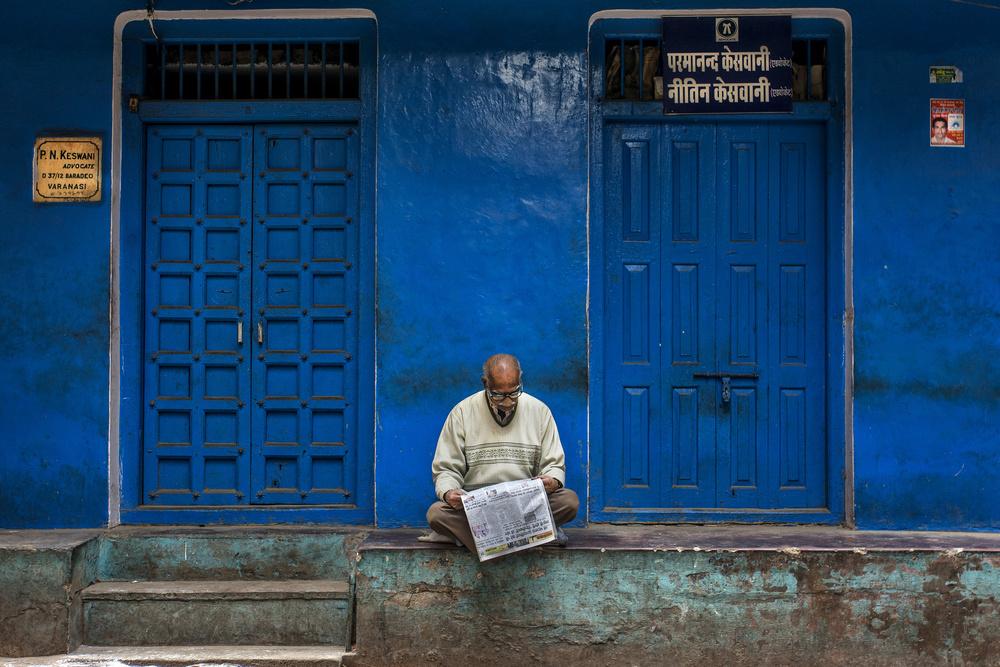 A piece of fine art art photography titled Doors by Yasemin Bakan