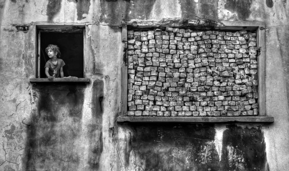 A piece of fine art art photography titled Wındow by Özden SEVİM