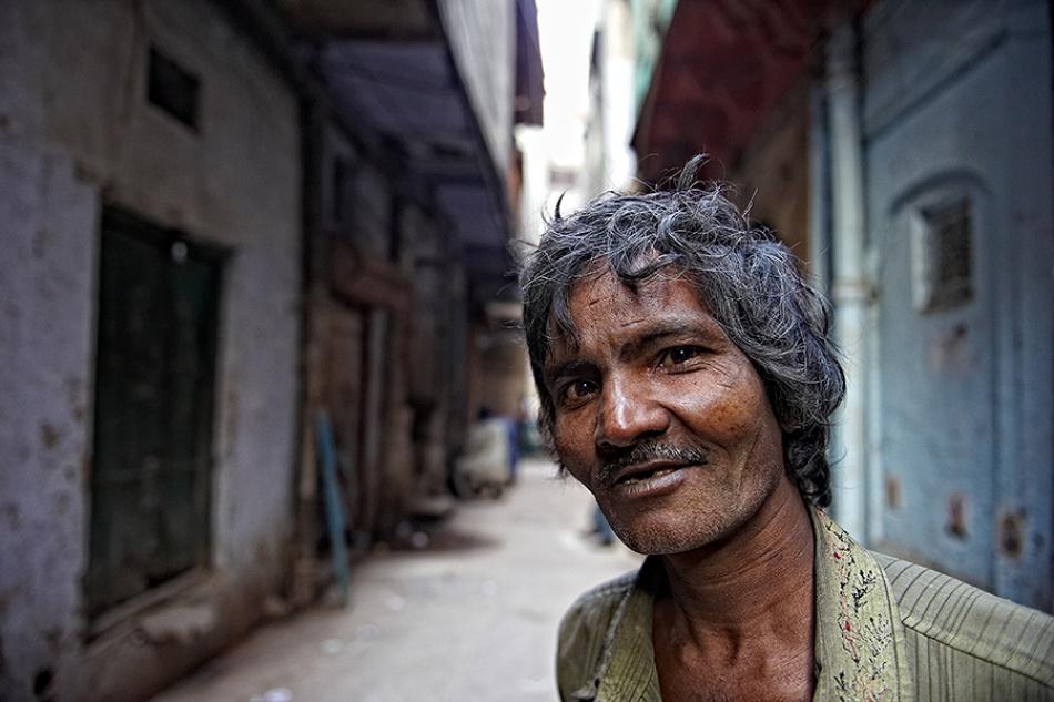 A piece of fine art art photography titled Peep by Prateek Dubey