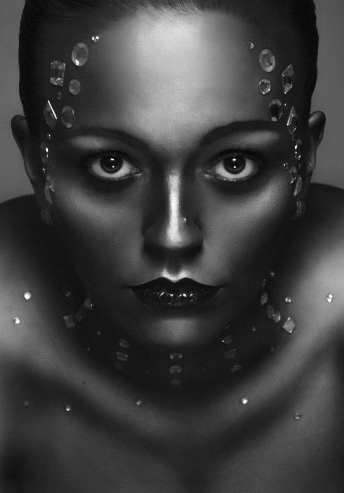 A piece of fine art art photography titled Alexandra by Jozef Kiss