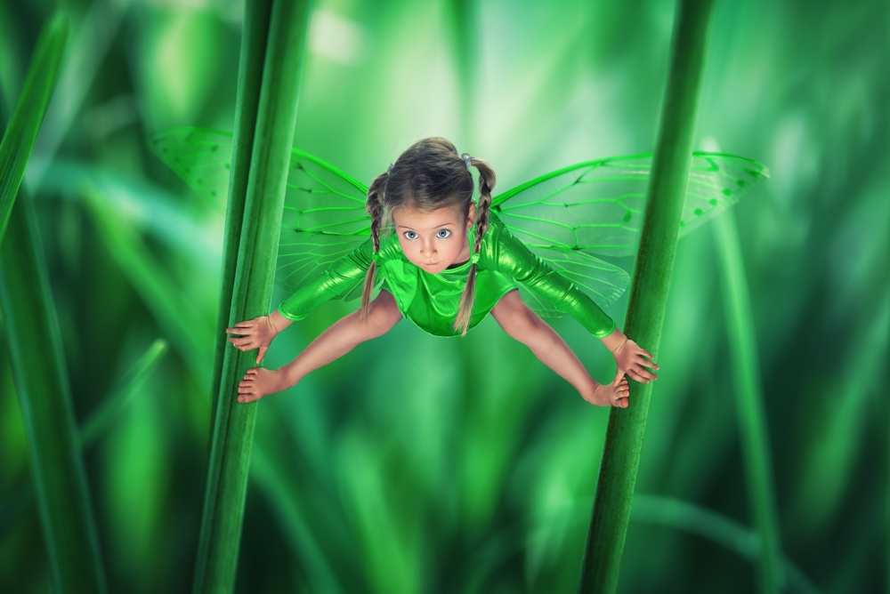A piece of fine art art photography titled Just a Loutterfly by John Wilhelm