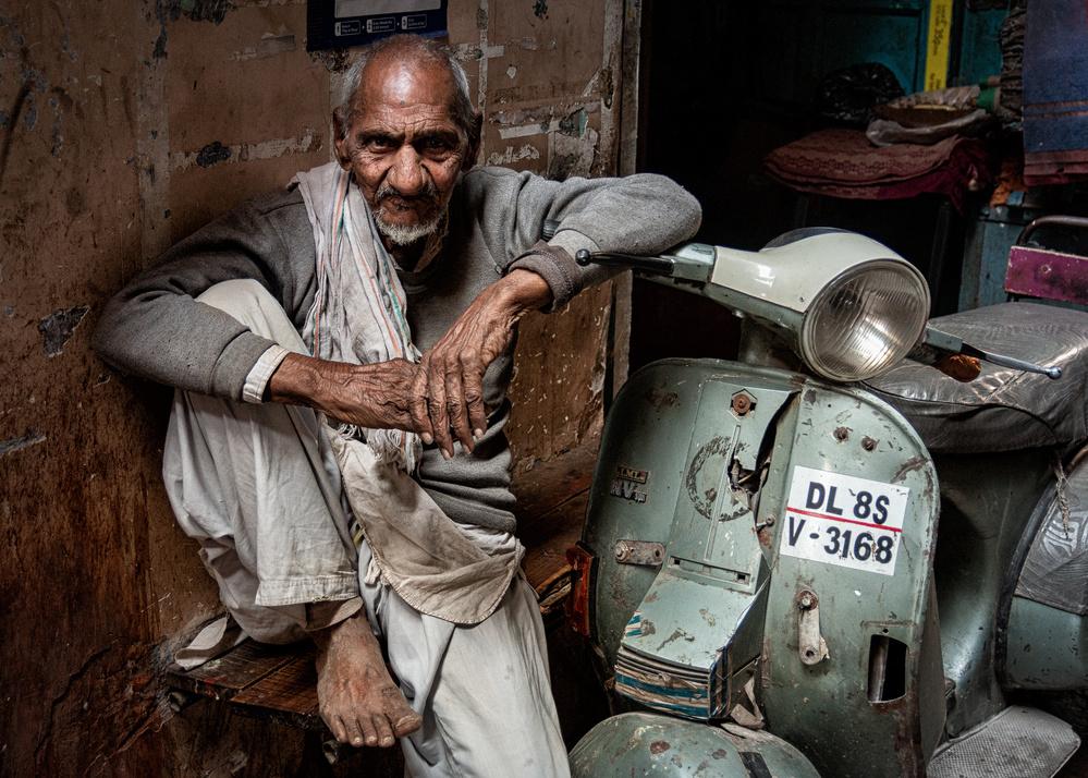 A piece of fine art art photography titled Delhi by Tashi_Delek Nakata