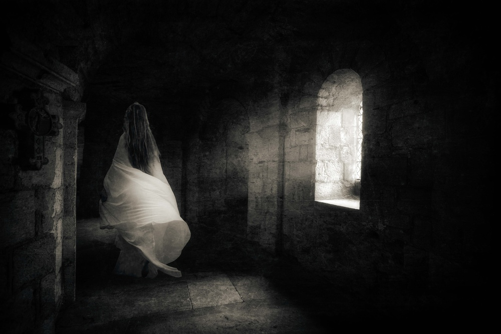 A piece of fine art art photography titled You Have to Forget Me by Charlaine Gerber
