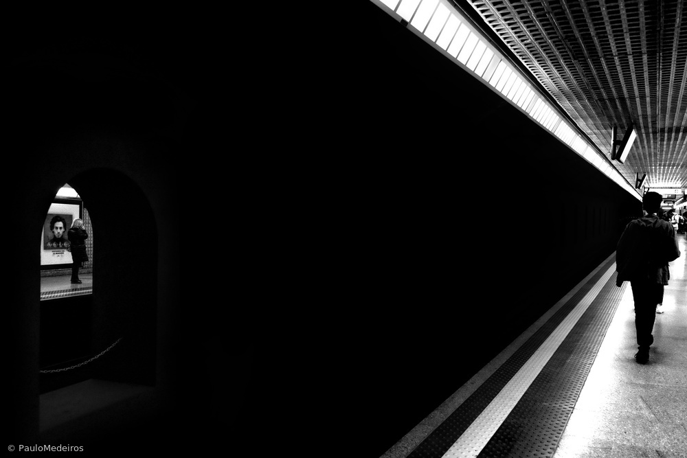 View this piece of fine art photography titled Metro by Paulo Medeiros