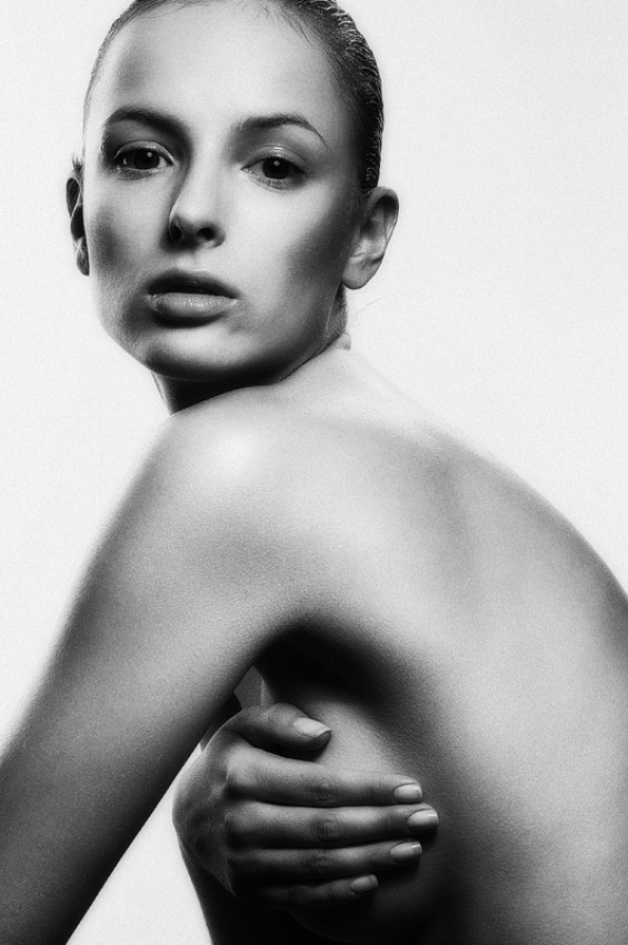 A piece of fine art art photography titled Anna by Michal Warda