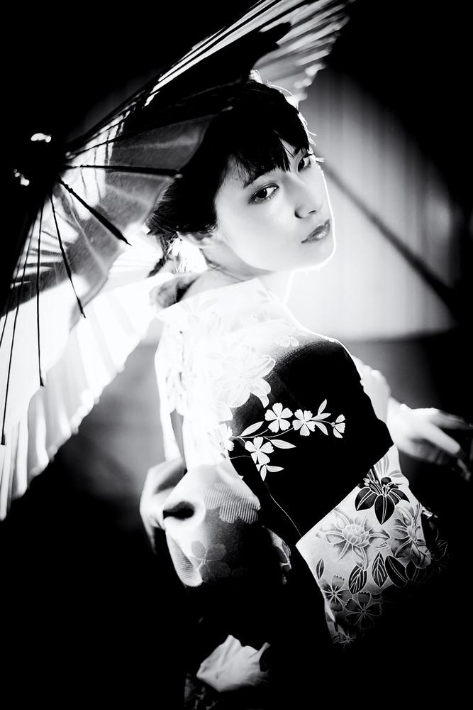 A piece of fine art art photography titled Sayaka Nishide by kk