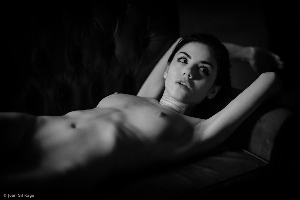 View this piece of fine art photography titled Delaia in B&W by Dieter Plogmann
