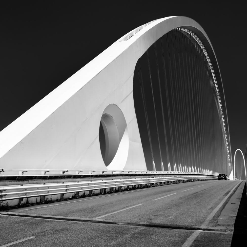 A piece of fine art art photography titled The Bridge by Valentina D'Alia