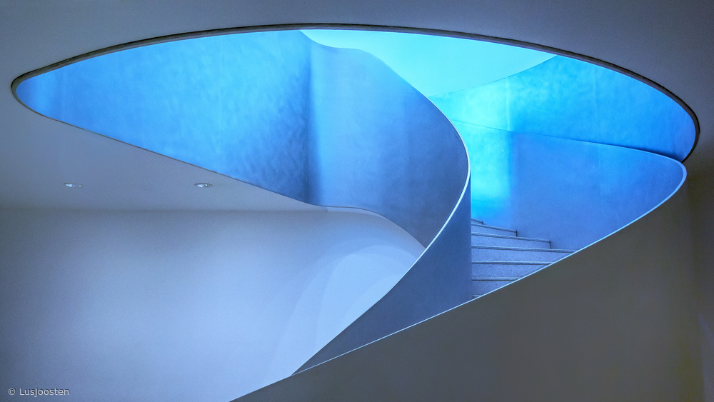 stairway to the blue light