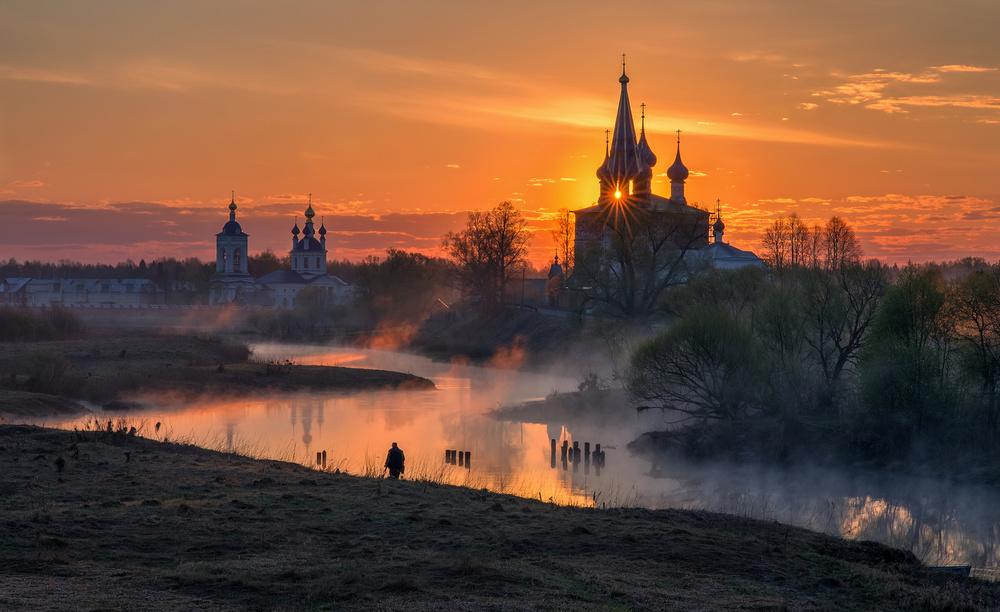 Dawn in Dunilovo