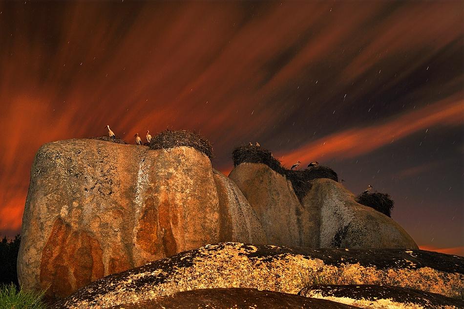 A piece of fine art art photography titled Magia En Los Barruecos by Francisco Mingorance