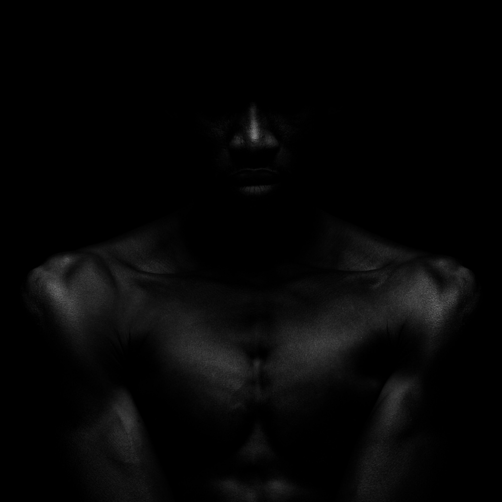 A piece of fine art art photography titled All the Shades of Black by Patrick Odorizzi