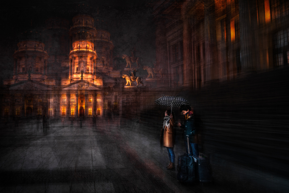 View this piece of fine art photography titled Gendarmenmarkt by S.ofF.LinE
