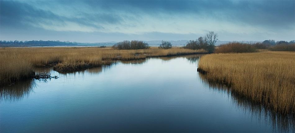 A piece of fine art art photography titled Silent Water by Henrik Knudsen