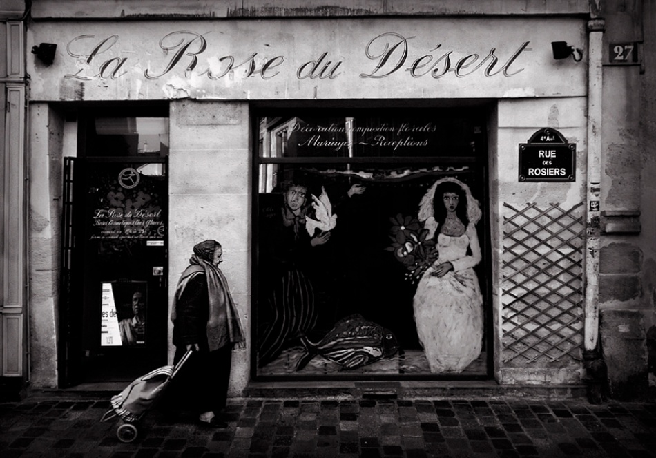 A piece of fine art art photography titled Rue Des Rosiers by Andre du Plessis FRPS