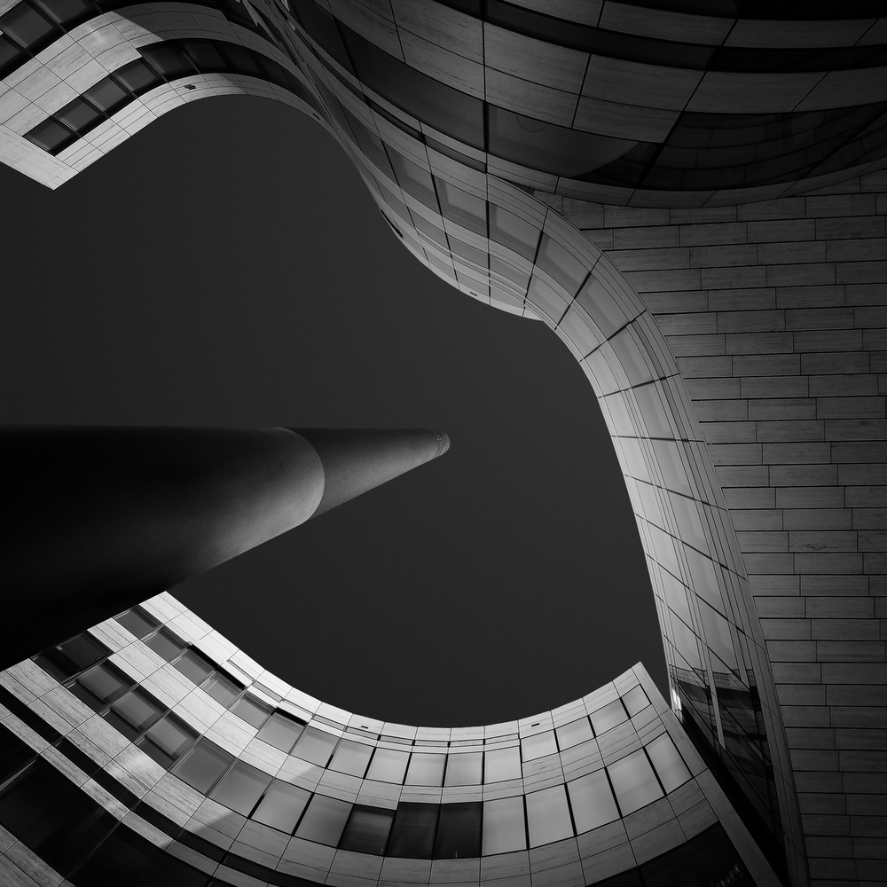 A piece of fine art art photography titled Vertigo by Gediminas Karbauskis