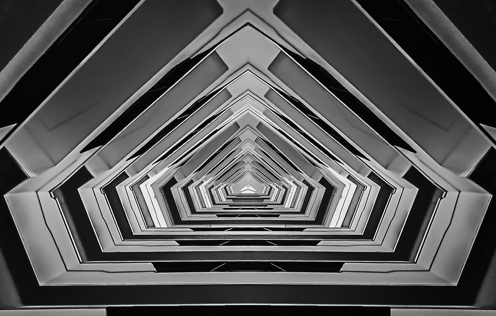 A piece of fine art art photography titled Height by Henk van Maastricht