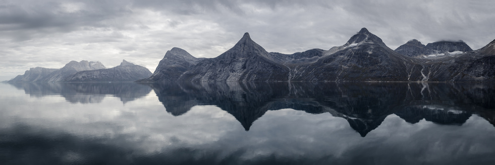 A piece of fine art art photography titled Hidden Pinnacle by Rasmus Hagen-Pedersen