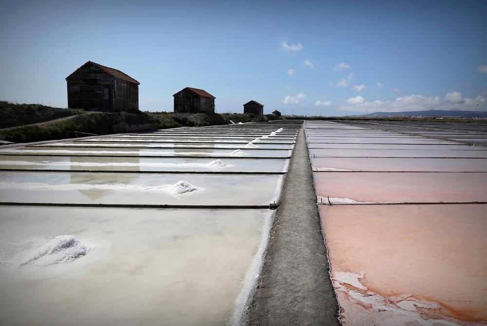A piece of fine art art photography titled The Salt Way by Isabel Daniel