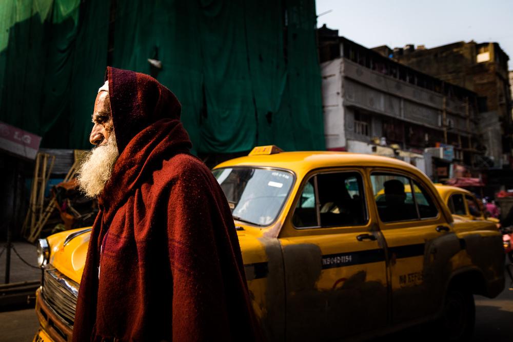 A piece of fine art art photography titled Kolkata , India by O-i miyaki