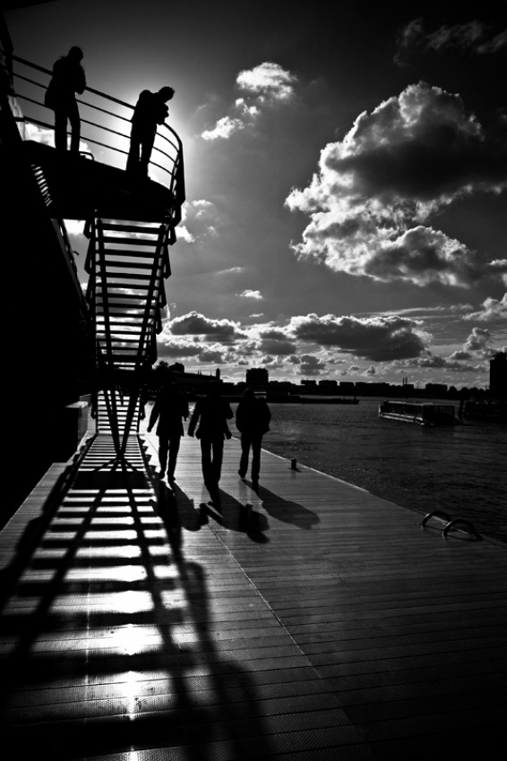 A piece of fine art art photography titled The Shadows by moses stell