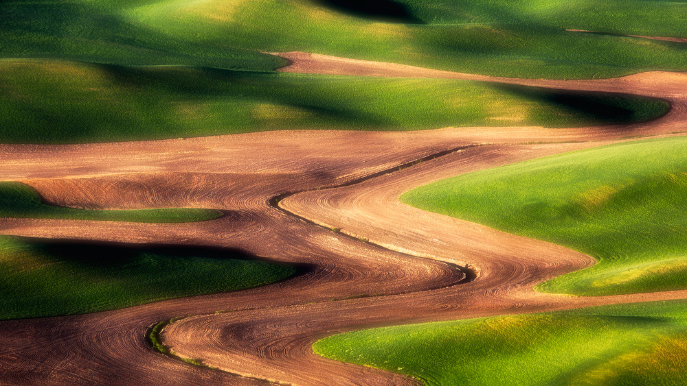 A piece of fine art art photography titled Flow by Aidong Ning
