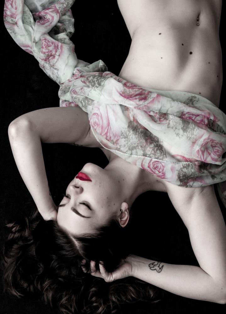A piece of fine art art photography titled Saija by Mira Parkkola