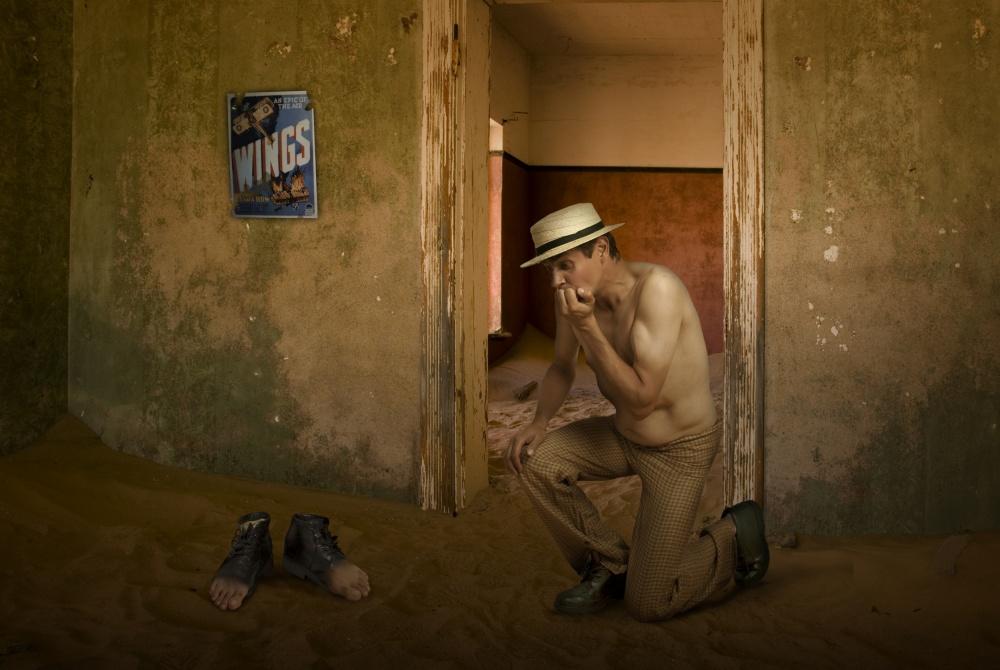 A piece of fine art art photography titled Lost by Christine von Diepenbroek