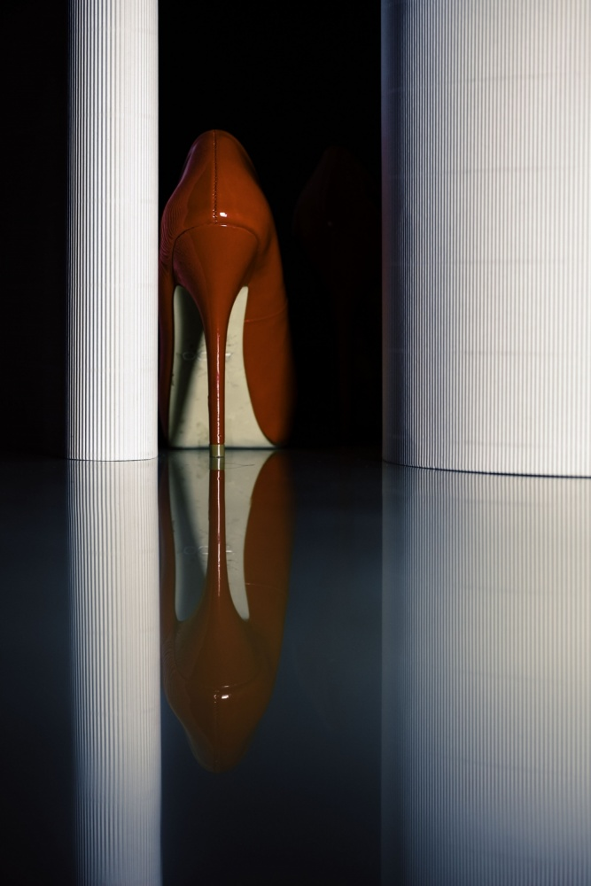 A piece of fine art art photography titled Single by Erik Schottstaedt