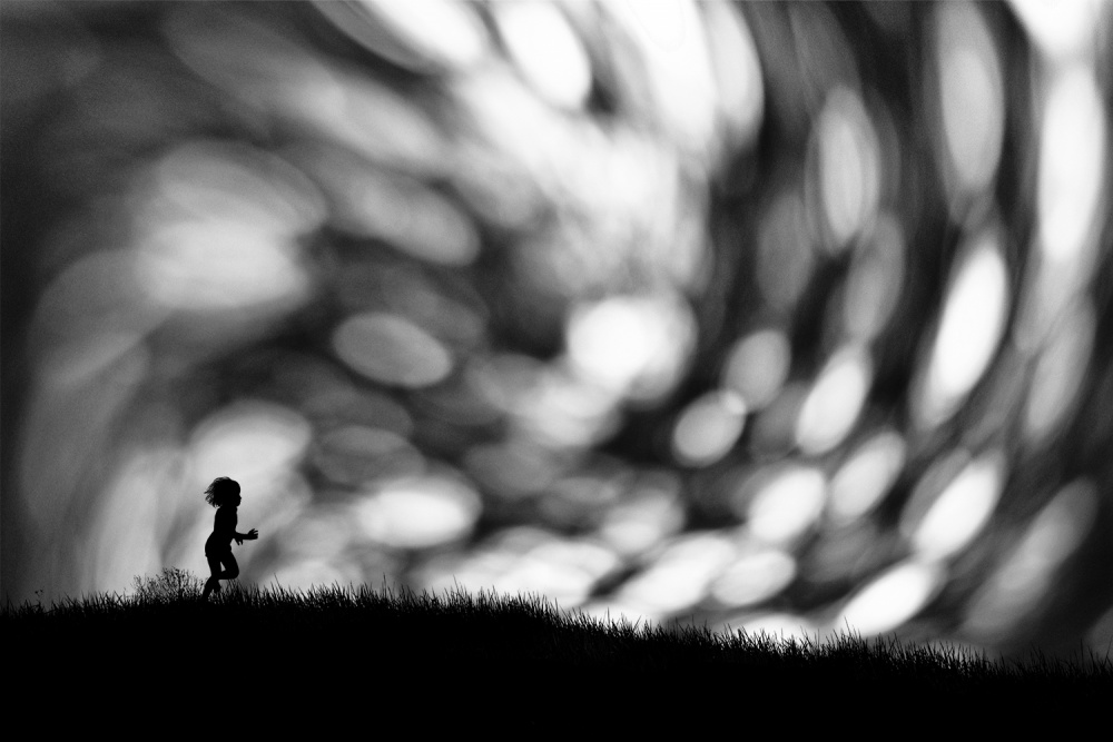 A piece of fine art art photography titled Andromeda by Hengki Lee
