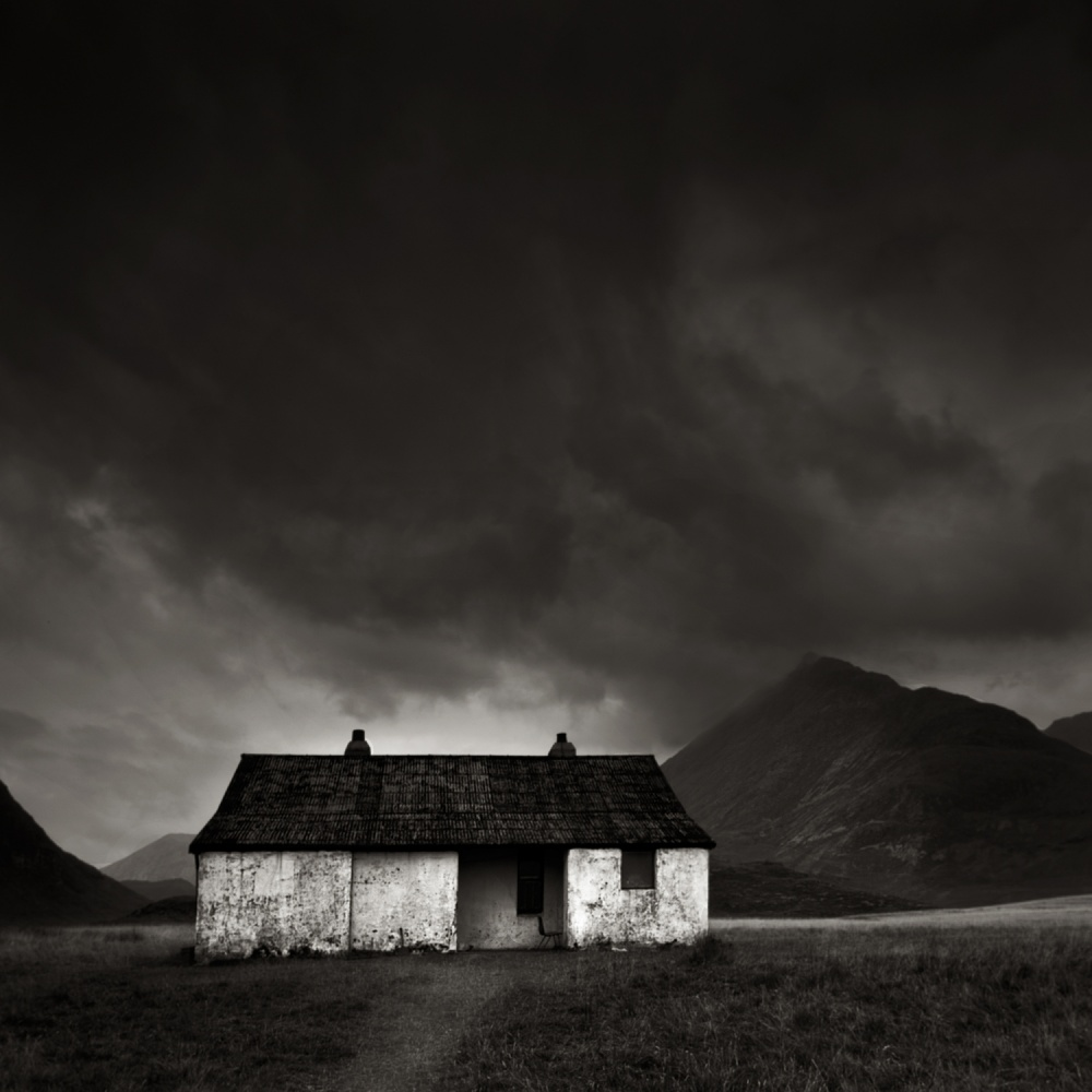 A piece of fine art art photography titled Bothy by Les Forrester
