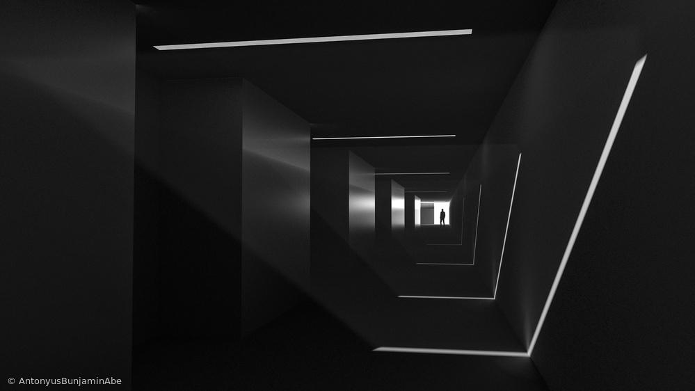 Light in Corridor