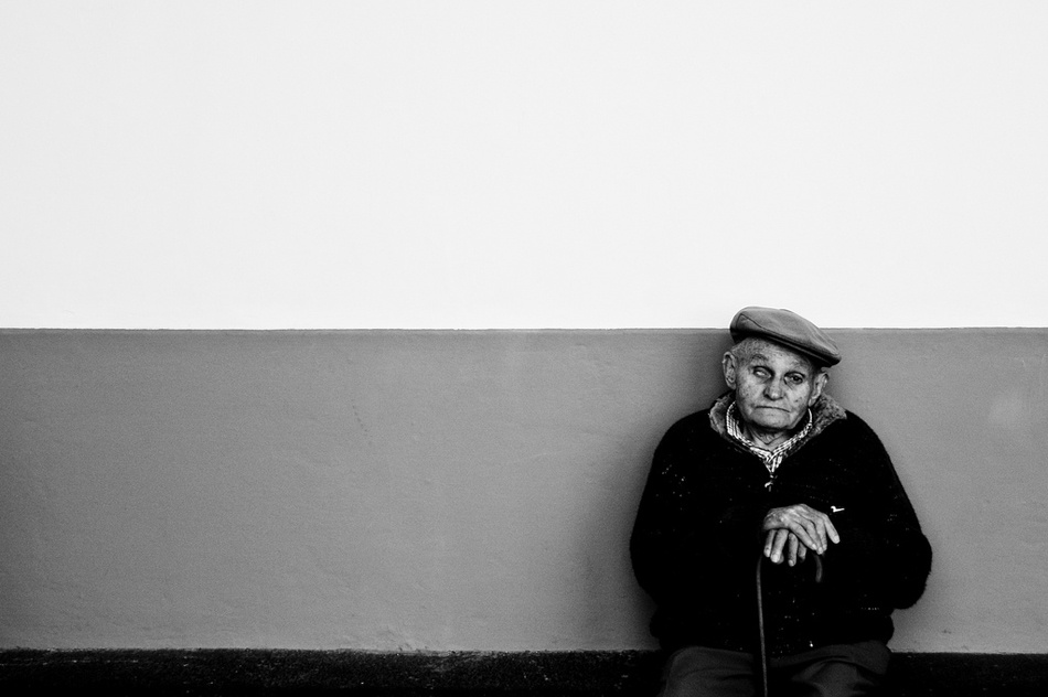 A piece of fine art art photography titled Waiting by Tiago Ribeiro