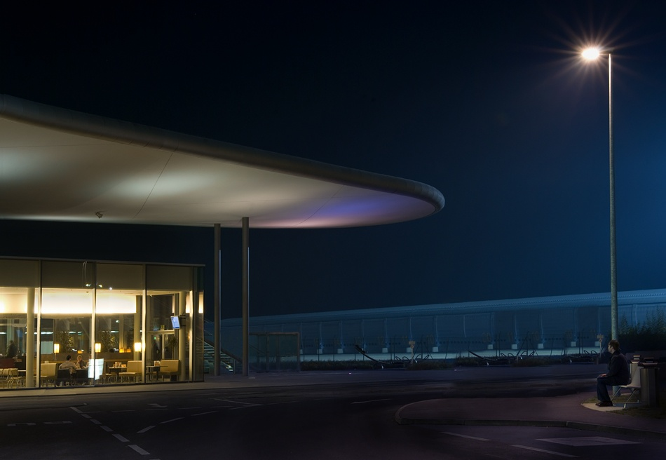 A piece of fine art art photography titled Nighthawks by Dragan Jovancevic