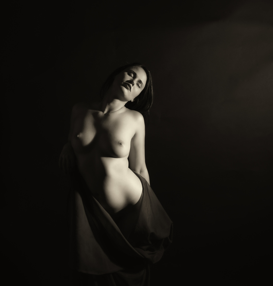 A piece of fine art art photography titled Beth 1 by Scott Michaels