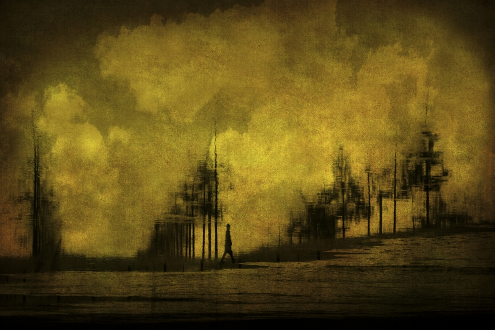 A piece of fine art art photography titled With Every Passing Day by Anja Buehrer