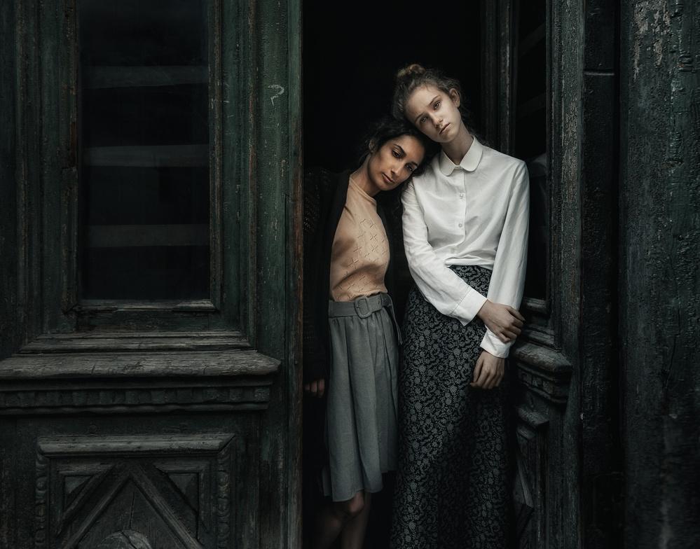 A piece of fine art art photography titled Twin by Konstantin Pilipchuk