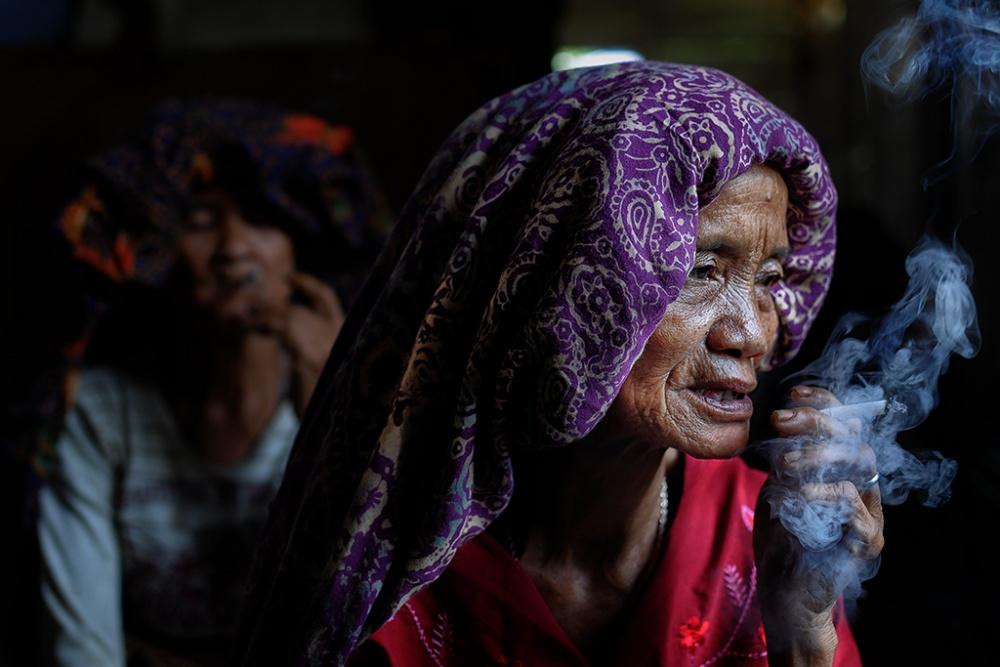 A piece of fine art art photography titled Elders by agust syahrivana