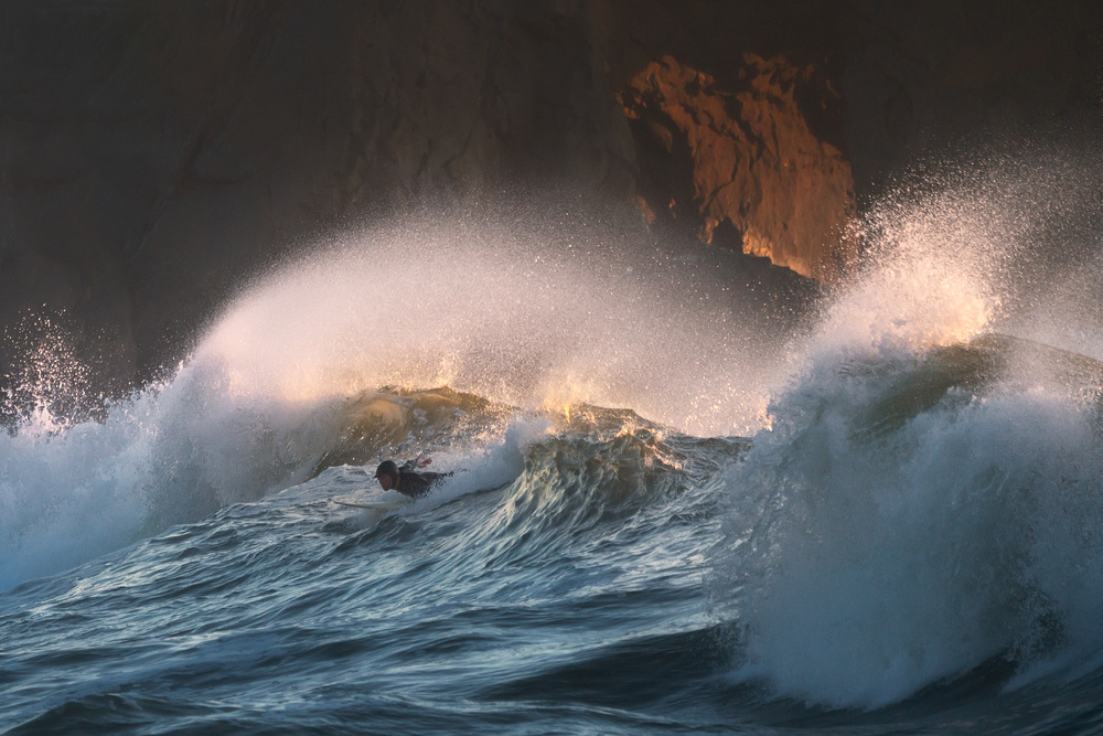 View this piece of fine art photography titled Surfer by Roswitha Schleicher-Schwarz