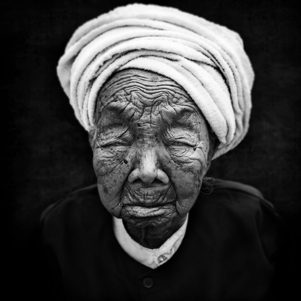 A piece of fine art art photography titled Portrait of a Long Life by André Alessio