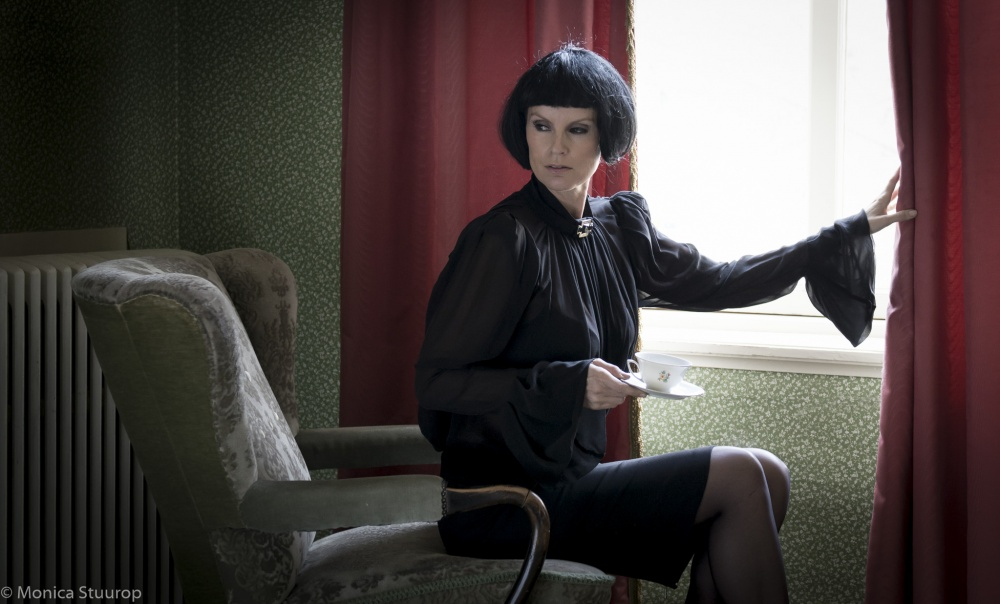 A piece of fine art art photography titled Lady of the House by Monica Stuurop