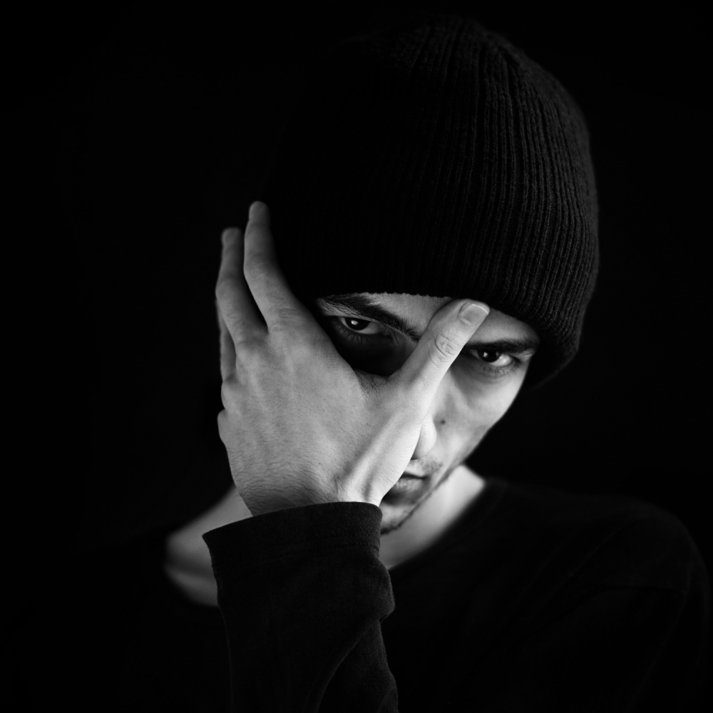 A piece of fine art art photography titled Haunted by Bobby Kostadinov