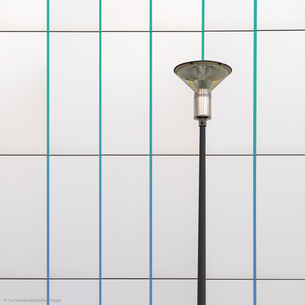 View this piece of fine art photography titled Single lamp by Luc Vangindertael (laGrange)