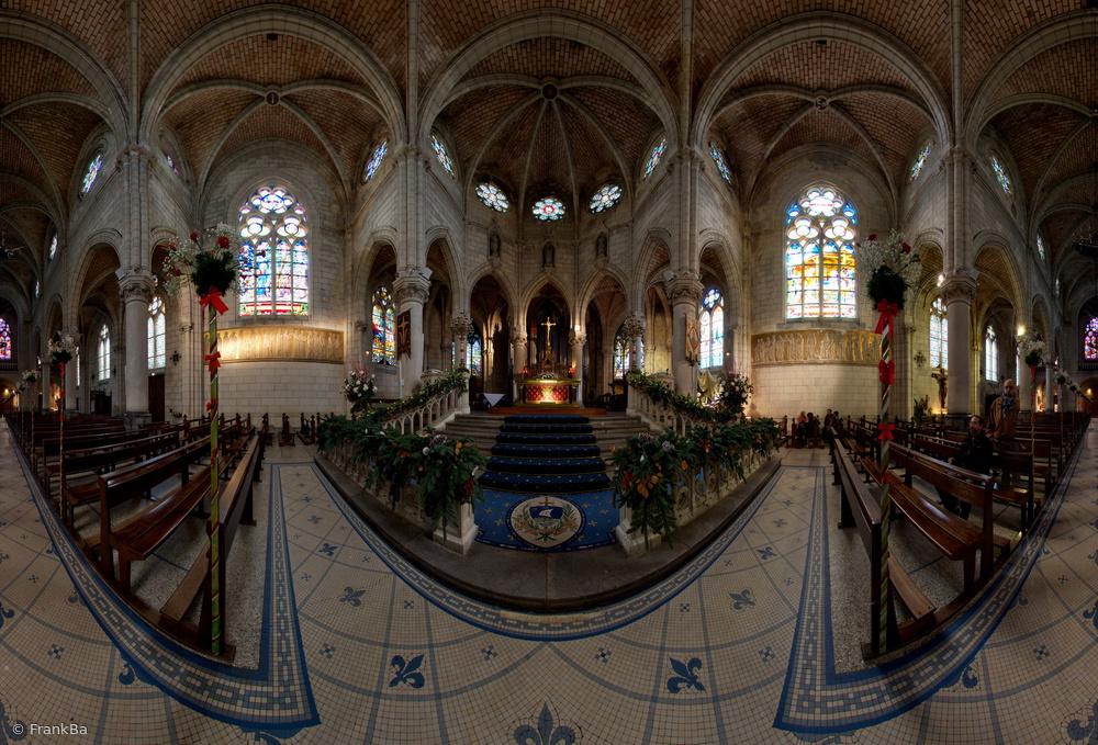Biarritz - Eglise Sainte Eugénie