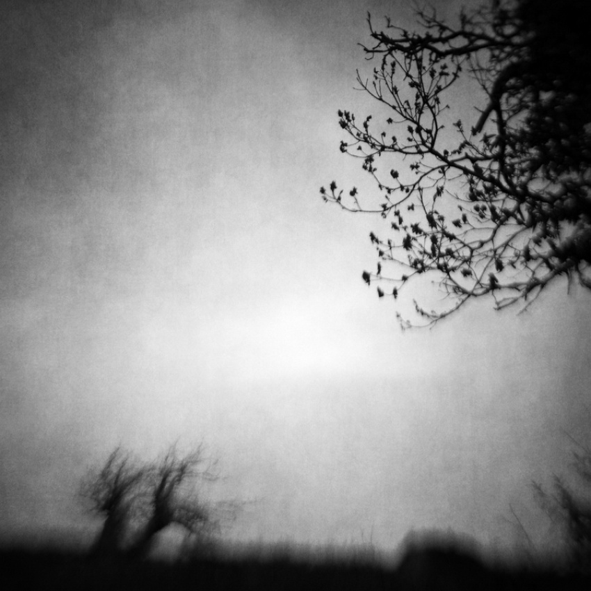 A piece of fine art art photography titled The Space Between by Vangelis Bagiatis