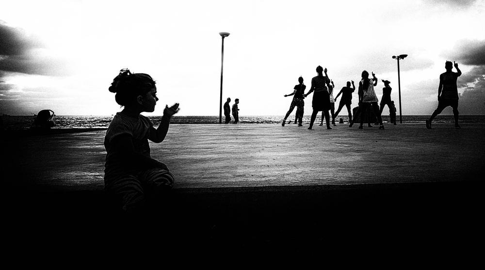 A piece of fine art art photography titled Dances by Yuri Shepelev