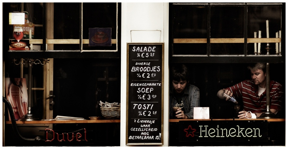 A piece of fine art art photography titled Menu for Today by moses stell