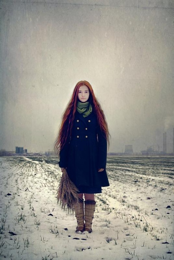 A piece of fine art art photography titled Russian2 by Anca Cernoschi